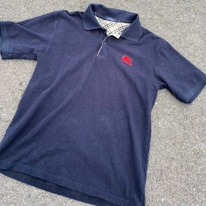burberry polo size large
